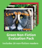 GREEN NON-FICTION EVALUATION PACK
